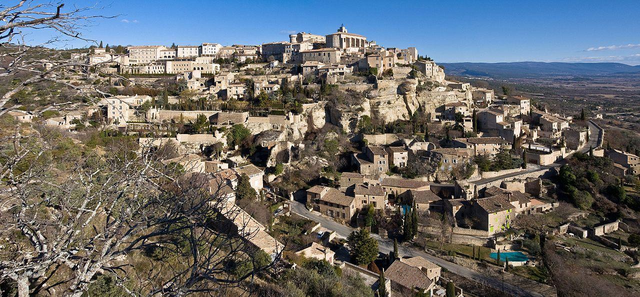 Vue du village de Gordes